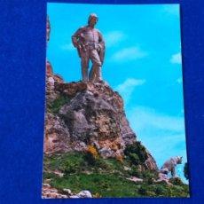 Postales: POSTAL DE BURGOS. AMEYUGO. MONUMENTO AL PASTOR. ED. SICILIA Nº 9. AÑO 1968. SIN CIRCULAR. Lote 204324503