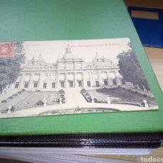 Postales: POSTAL ANTIGUA PALACIO DE LA GRANJA. FACHADA PRINCIPAL DEL PALACIO. PRINCIPIOS SIGLO XX. Lote 204550108