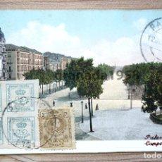 Cartes Postales: PALENCIA. CAMPO GRANDE. PURGER. COLECCIONISTA A. SÁNCHEZ DE CALLE MAYOR. R.E.C.P. Lote 205017985