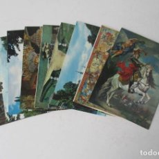 Postales: 9 POSTALES DE LA GRANJA DE SAN ILDEFONSO, SEGOVIA - GRAN TAMAÑO 22X16 CM.. Lote 205173947