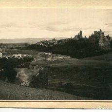 Postales: SEGOVIA -PEÑA GRAJERA-VISTA GENERAL- FOTOGRÁFICA AÑO 1912 MUY RARA. Lote 205206183