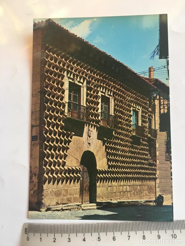 POSTAL. SEGOVIA. CASA DE LOS PICOS. GARCÍA GARRABELLA Y CÍA. (Postales - España - Castilla y León Moderna (desde 1940))