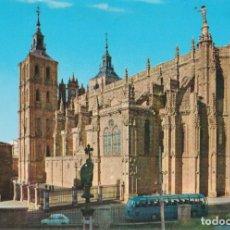 Cartes Postales: ASTORGA, LA CATEDRAL - EDICIONES ARRIBAS Nº 2002 - S/C. Lote 205749832
