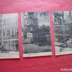 Postales: SALAMANCA.-CATEDRAL-J. C. CALON.-POSTALES.-LOTE DE 3 POSTALES ANTIGUAS.-SALAMANCA.. Lote 205817941