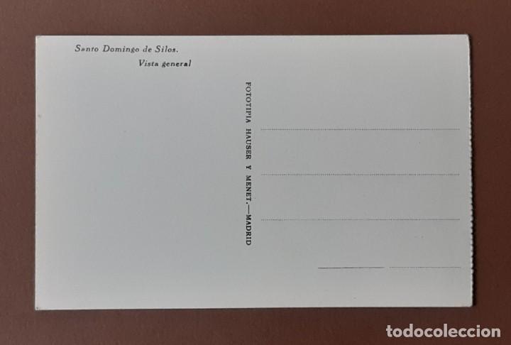 Postales: POSTAL SANTO DOMINGO DE SILOS. BURGOS. FOTOTÍPIA HAUSER Y MENET. MADRID. NO CIRCULADA. - Foto 2 - 206127965