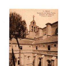 Postales: ÁVILA.- CONVENTO DE SANTO TOMÁS CLAUSTRO DEL SILENCIO.. Lote 206285588