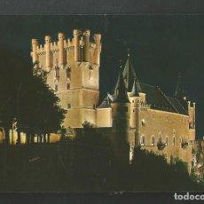 Postales: POSTAL SIN CIRCULAR - SEGOVIA 79 - EL ALCAZAR - EDITA GARCIA GARRABELLA. Lote 206411772