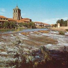 Postales: PALENCIA AGUILAR DE CAMPOO FUENTE LA TEJA. ED. SICILIA Nº 9. AÑO 1964. SIN CIRCULAR. Lote 206575258