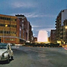 Postales: PALENCIA FUENTE LUMINOSA. ED. SICILIA Nº 33. AÑO 1968. SIN CIRCULAR. Lote 206575743