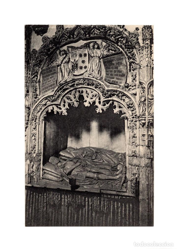 TORO.(ZAMORA).- SEPULCRO DE LA ESPOSA DE DON PEDRO EL CRUEL DEL SIGLO XIV. (Postales - España - Castilla y León Antigua (hasta 1939))