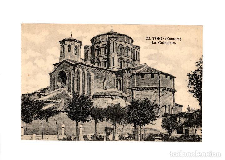 TORO.(ZAMORA).- LA COLEGIATA. (Postales - España - Castilla y León Antigua (hasta 1939))