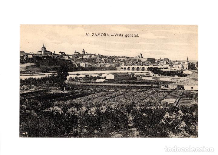 ZAMORA.- VISTA GENERAL. (Postales - España - Castilla y León Antigua (hasta 1939))
