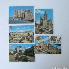 Postales: CINCO POSTALES DE LEON - EDICIONES SUBIRATS CASANOVAS. Lote 206887365