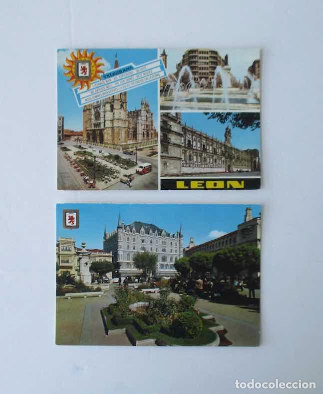 Postales: CINCO POSTALES DE LEON - EDICIONES SUBIRATS CASANOVAS - Foto 3 - 206887365