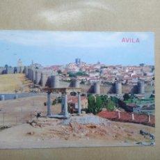 Postales: POSTAL AVILA,VISTA GENERAL. Lote 207072782