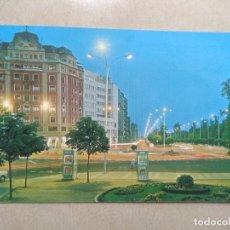 Postales: POSTAL LEON, GLORIETA DE GUZMAN. Lote 207078198