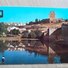 Postales: TARJETA POSTAL - SALAMANCA - CIUDAD RODRIGO - PUENTE ROMANICO Y CASTILLO № 13. Lote 207100862