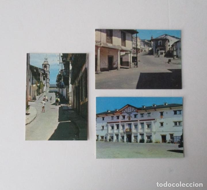 TRES POSTALES DE PUEBLA DE SANABRIA, ZAMORA - EDICIONES FITER (Postales - España - Castilla y León Moderna (desde 1940))