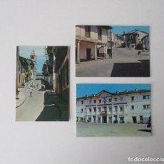Postales: TRES POSTALES DE PUEBLA DE SANABRIA, ZAMORA - EDICIONES FITER. Lote 207200508