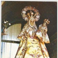 Postales: * C628 - POSTAL - RIAZA - SEGOVIA - NUESTRA SEÑORA DE HONTANARES. Lote 207259805