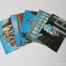 Postales: CINCO POSTALES DE SEGOVIA. Lote 207524756