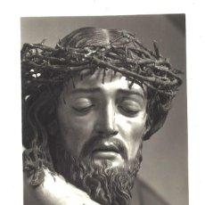Postais: CABEZA DE CRISTO EN LA CRUZ. SALVADOR CARMONA. VALLADOLID. SIN CIRCULAR. Lote 208143240