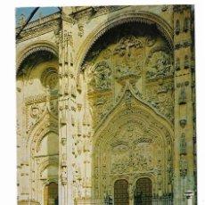 Postales: SALAMANCA (1970) ENTRADA CATEDRAL - FACHADA UNIVERSIDAD. Lote 26077324