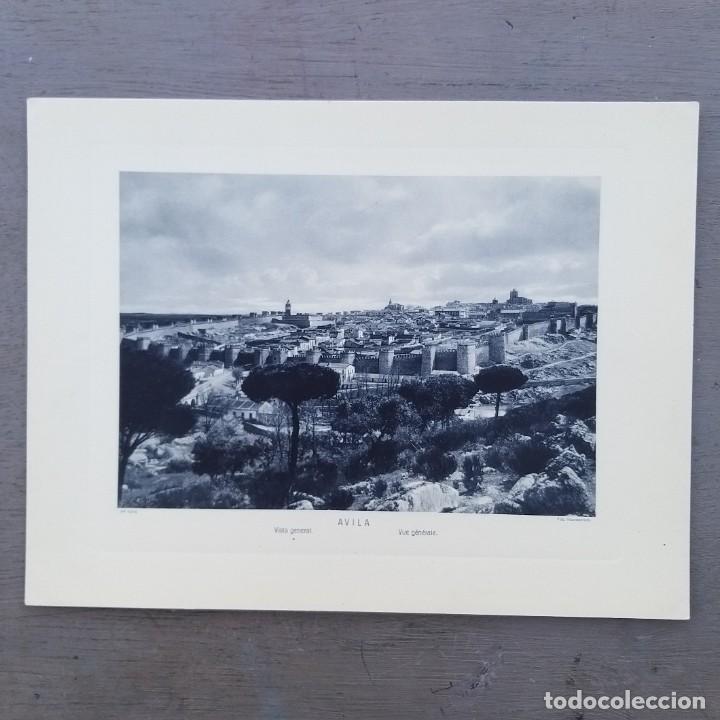 GRAN FOTOGRAFIA/FOTOTIPIA IMPRESA AVILA FOTO OTTO WUNDERLICH, (Postales - España - Castilla y León Antigua (hasta 1939))