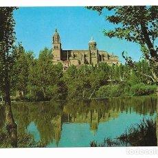 Postales: SALAMANCA - RIO TORMES Y CATEDRAL (1967). Lote 12874458