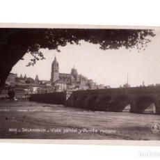 Cartoline: SALAMANCA.- VISTA PARCIAL Y PUENTE ROMANO.. Lote 208975636