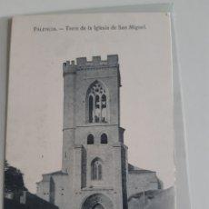 Postales: LOTE DE 3 POSTALES PALENCIA EDICIONES HAE FOTO ALONSO JARDINES PLAZA MAYOR HELIOTIPIA ARTÍSTICA ESPA. Lote 209910696