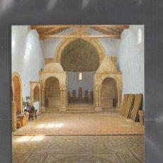 Postales: Nº 13 - SORIA. SAN JUAN DE DUERO. INTERIOR ALTARES LATERALES Y MOSAICO CELTIBERICO. Lote 210376673