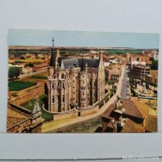Postales: ASTORGA (LEÓN) PALACIO EPISCOPAL, GAUDÍ, A.G. COBAS. Lote 210587612
