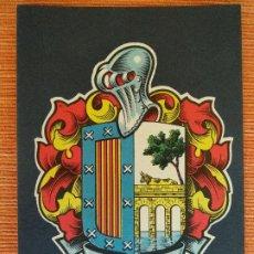 Postales: BLASONES DE ESPAÑA ESCUDO SALAMANCA COLECCIÓN HERÁLDICA. Lote 210603251
