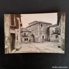 Postales: POSTAL PEDRAZA (SEGOVIA).- CARCEL Y CASA DE LOS LLANOS. Lote 210606077