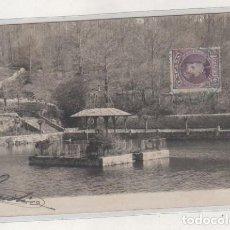 Cartes Postales: POSTAL FOTOGRÁFICA BEJAR. ESTANQUE EN EL BOSQUE. JARDÍN HISTÓRICO. CIRCULADA.. Lote 210653120