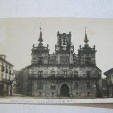Postales: ASTORGA-AYUNTAMIENTO-4-ROISIN-FOTOGRAFICA-POSTAL ANTIGUA-(72.782). Lote 211430704