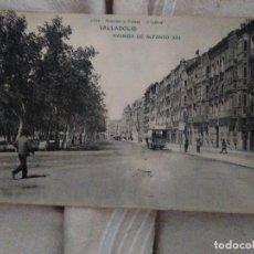 Cartoline: VALLADOLID AVENIDA DE ALFONSO XIII 1821 HAUSER Y MENET SERIE GENERAL.. Lote 211490574