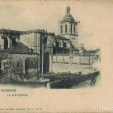 Postales: CIUDAD RODRIGO, SALAMANCA. LA CATEDRAL. Nº 484 VDA DE OLIVÁN Y HERMANO. FOTOTIPIA HAUSER Y MENET. Lote 211497444