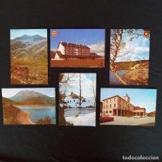 Postales: 6 POSTALES PALENCIA, CERVERA DEL PISUERGA, PARADOR. Lote 211816133