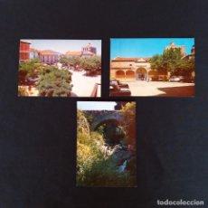 Postales: 3 POSTALES PIEDRAHITA- AVILA AÑOS 60-70. Lote 211816308
