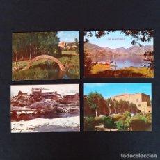 Postales: 4 POSTALES ZAMORA SANABRIA AÑOS 60-70. Lote 211820902