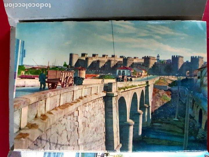 Postales: AVILA - 10 VISTAS COLOR SERIE 1 -años 60 - Foto 3 - 212199883
