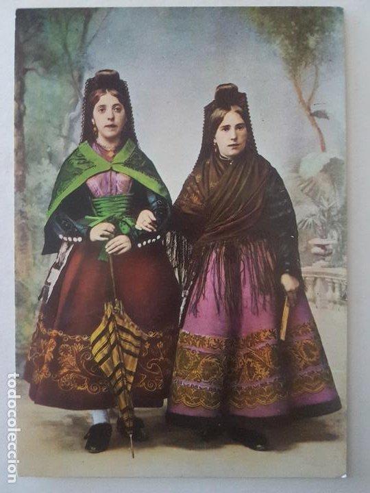 CANDELARIO SALAMANCA TRAJES TIPICOS POSTAL (Postales - España - Castilla y León Antigua (hasta 1939))