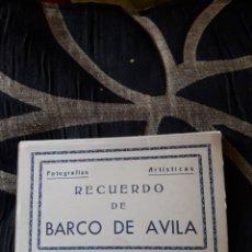 Postales: ANTIGUO ACORDEÓN CON 10, POSTALES FOTOGRAFÍCAS DEL BARCO DE ÁVILA. Lote 212763466