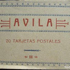 Postales: BLOC AVILA CON 17 POSTALES. FOTOTIPIA HAUSER Y MENET. MADRID. CALLE BALLESTA. Lote 212958020
