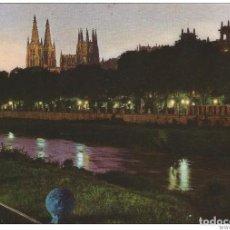 Postales: // E118 - POSTAL - BURGOS - RIO ARLANZON Y CATEDRAL. Lote 213145943