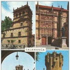 Postales: // E228 - POSTAL - SALAMANCA - BELLEZAS DE LA CIUDAD. Lote 213435088