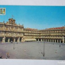 Postales: POSTAL: PLAZA MAYOR DE SALAMANCA. Lote 213904415