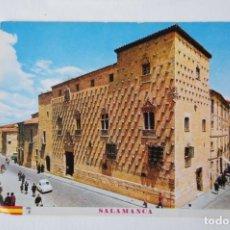 Postales: POSTAL DE SALAMANCA . CASA DE LAS CONCHAS. Lote 213906203